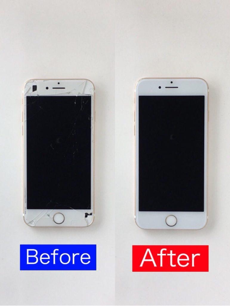 iPhone7 修理 宇都宮